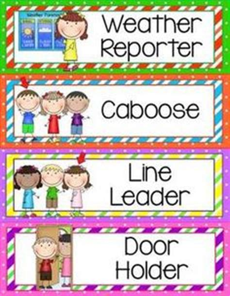preschool helper jobs 1000 images about classroom helpers on 635