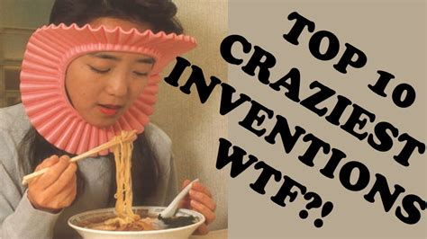 Top 10 Weird & Crazy Inventions 2015 Youtube