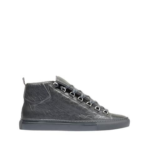 balenciaga s by blipatu balenciaga arena high sneakers gris fossile 39 s