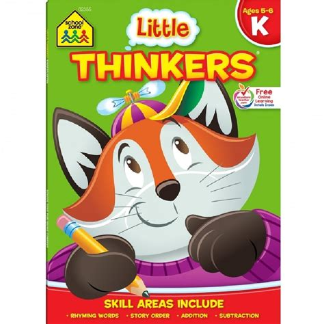libros educativo school house 453 | SZ 02111 Little Thinkers Preschool Workbook