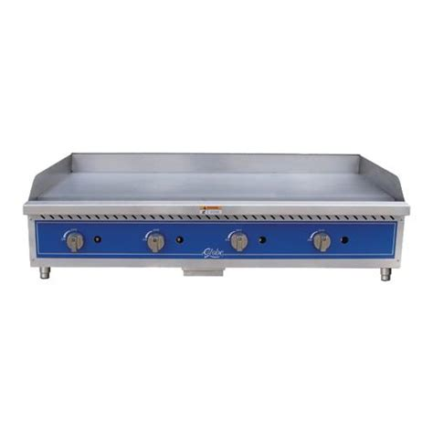 Countertop Griddle Gas - globe gg48g 48 quot gas griddle flat top grill ebay