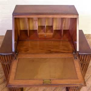 Art Deco Oak Bureau  Antiques Atlas