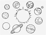 Planet Coloring sketch template