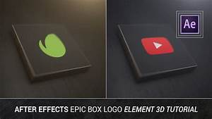 After Effects - Epic Box Logo Element 3D Tutorial ...