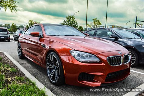 bmw m6 spotted in cincinnati ohio on 05 16 2015