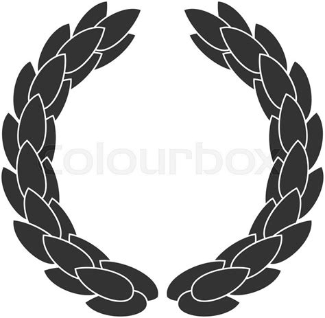 laurel wreath symbol  victory  achievement