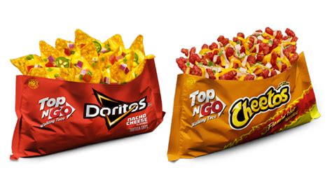 Frito Lay Has A Line Of Walking Tacos Featuring Hot