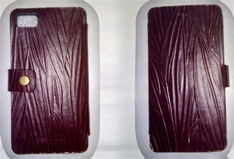Cover Sarung Hp Kulit Sapi sarung hp flip leather blackberry bb z10