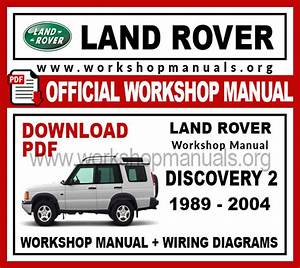Land Rover Discovery 2 Workshop Repair Manual