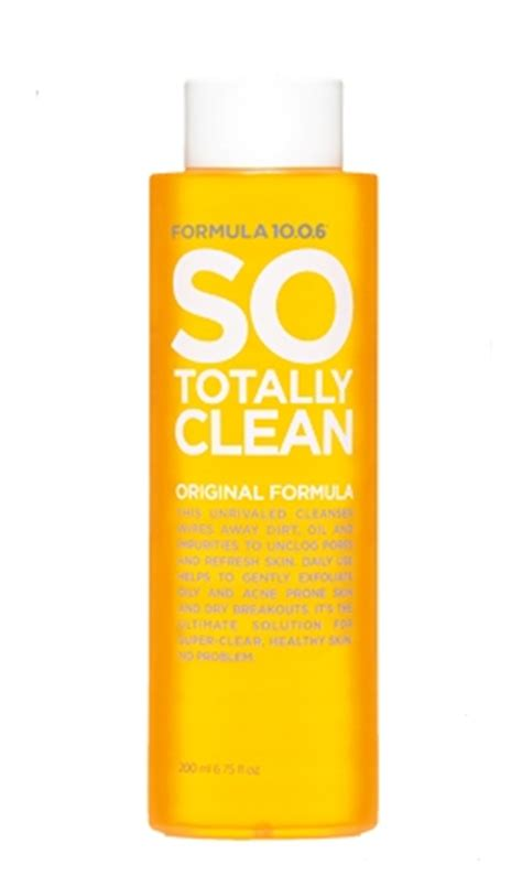 formula   totally clean deep pore cleanser reviews