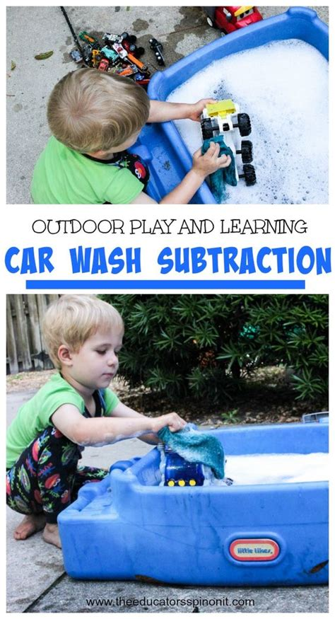 for kids car wash splash giggle and learn how to set up car wash