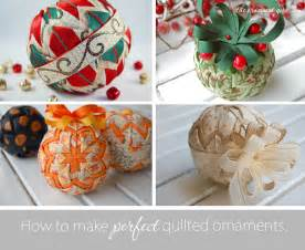 quilted ornament pattern how to make quilted christmas ornaments