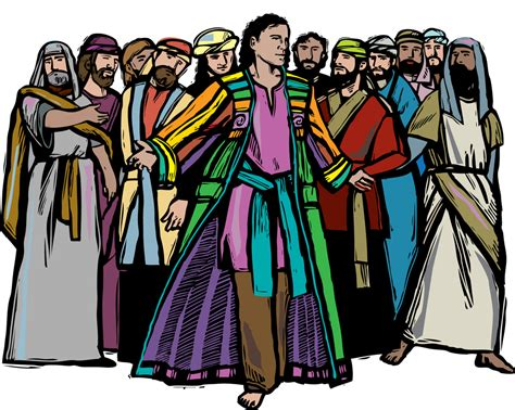 joseph and his coat of many colors 4g gifted growing by god s grace