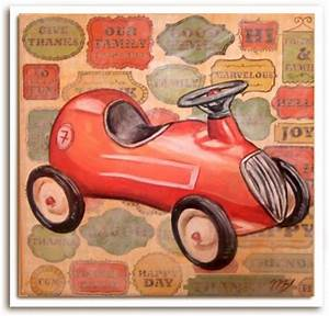 Voiture Enfant Vintage : voiture rouge vintage boutique ~ Teatrodelosmanantiales.com Idées de Décoration