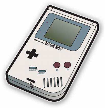 Gameboy Boy Clipart Icon Vector Console Nintendo