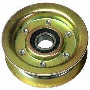 Flat Idler Pulley Gy20067 Gy22172 For John Deere 100
