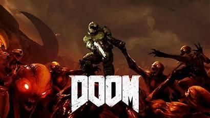 Doom Credits End Sfondo Scene