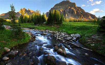 Stream Mountain Denali National Park Amazing Wallpapers