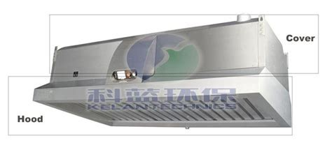 Hood Style Cooking Fume And Smoke Extraction System With