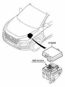 2019 Hyundai Tucson Front Wiring