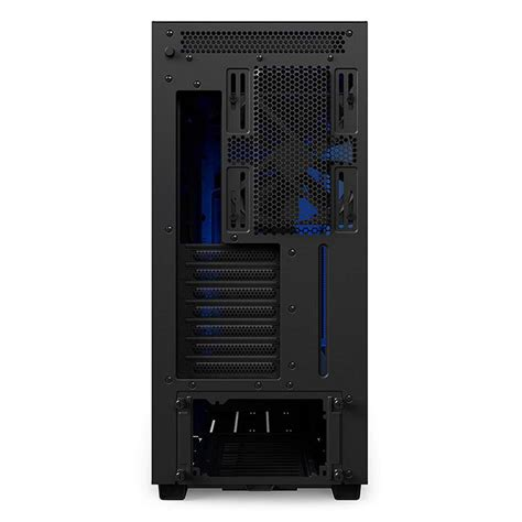 nzxt  tempered glass mid tower  atx case matte