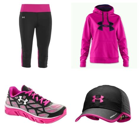 best christmas list items for runners black pink amour running clothes list items running clothes for winter my