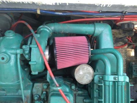 volvo marine      series tamd  air filter