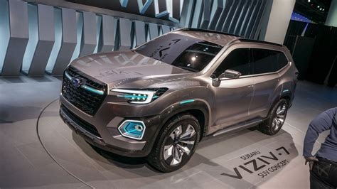 Largest Suv by Viziv 7 Suv Concept Is The Subaru Of All