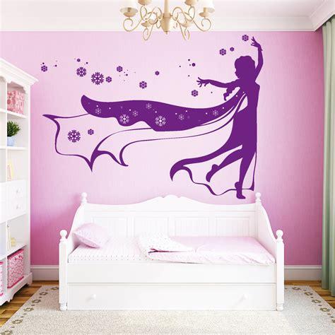 Wandtattoo Kinderzimmer Und Elsa by 10936 Wandtattoo Loft Aufkleber Eisprinzessin