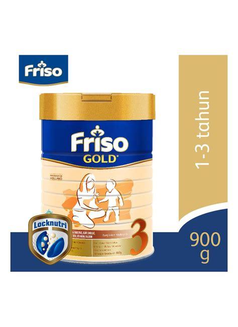 Friso Gold 3 900g friso gold 3 pertumbuhan 1 3 tahun plain klg 900g