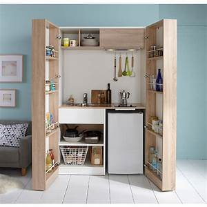 Kitchenette Pour Studio : kitchenette nomade castorama pinteres ~ Premium-room.com Idées de Décoration