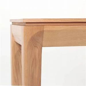 Table Console Extensible Bois : console extensible contemporaine en bois massif buzz 4 pieds tables chaises et tabourets ~ Teatrodelosmanantiales.com Idées de Décoration