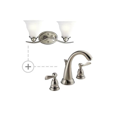 Matching Bathroom Fixtures by Delta B3596lf P3191 Chrome Chrome Windemere Widespread