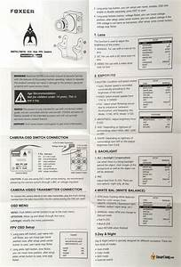 Foxeer Arrow V2 Calibrate Procedure