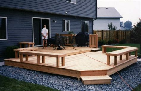 Patio And Deck Ideas For Small Backyards by Small Backyard Decks Small Deck My New House