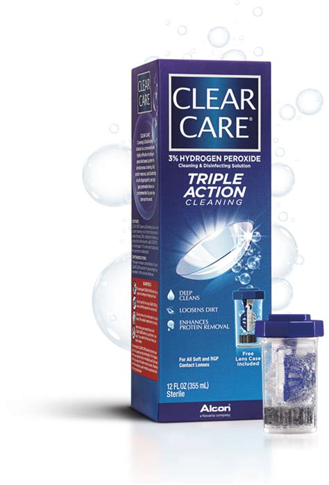 care and clean clear care 174 contact lens solution clearcaresolution com