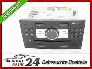 Autoradio Opel Astra H : radio autoradio mp3 cd 30 piano schwarz 13251055 opel astra h zafira b facelift ebay ~ Maxctalentgroup.com Avis de Voitures