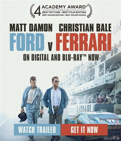 How can you watch ford vs ferrari online? Ford vs. Ferrari - Evaleigh's Everything Journal