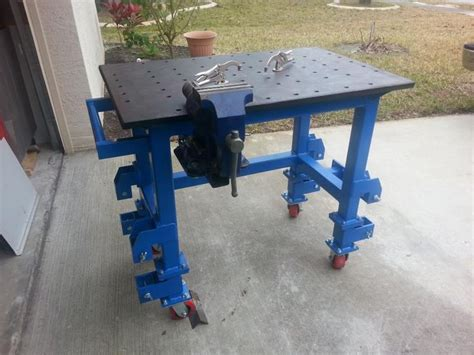 welding table picture thread page  garage