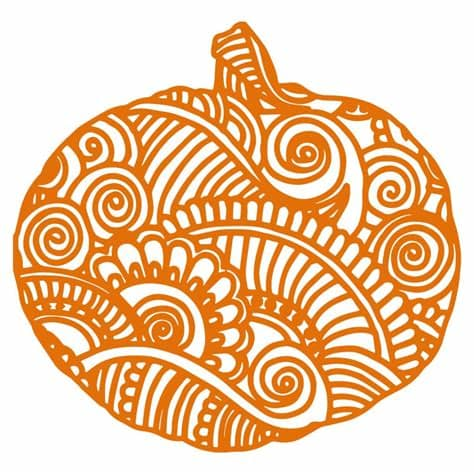 The file will be available to download in svg, png, dxf, eps and ai format. Zentangle Pumpkin SVG   Zentangle, Upcycled crafts