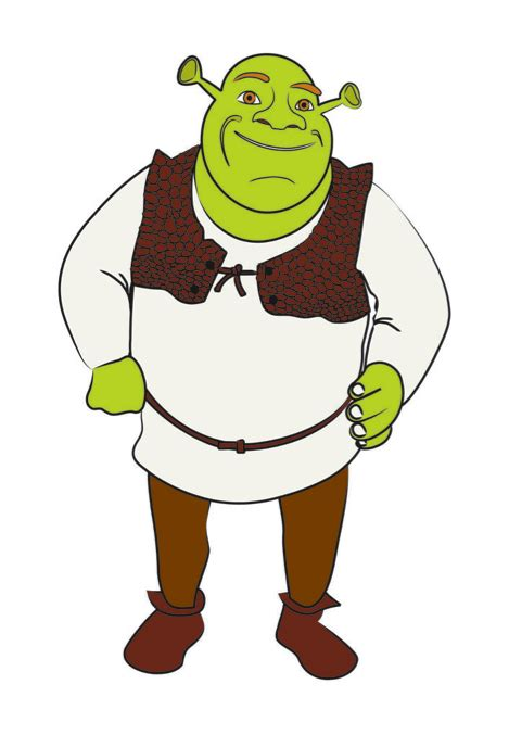draw shrek  pictures wikihow