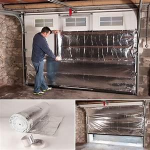kit isolation thermique special porte de garage outillage With porte de garage et isolation thermique porte intérieure
