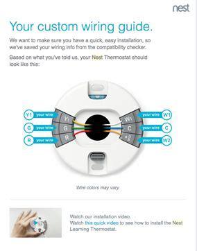 Nest Thermostat Wiring Diagram