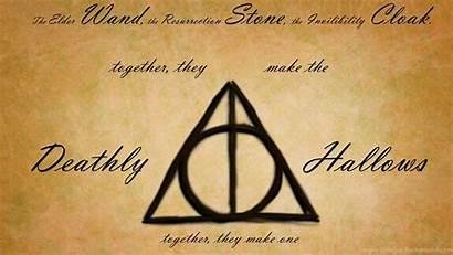 Deathly Hallows Potter Harry Symbol Wallpapers Illuminati