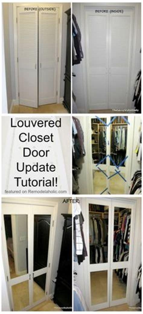 mirrored closet doors on closet doors closet