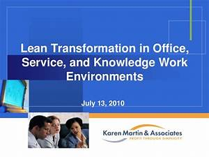 Lean Transformation in Office, Service, and Knowledge Work ...