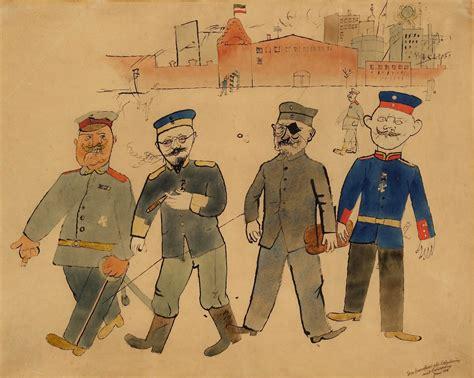 George Grosz exhibition in London | First World War ...