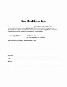 Best photos of simple model release form template for Free photography print release form template