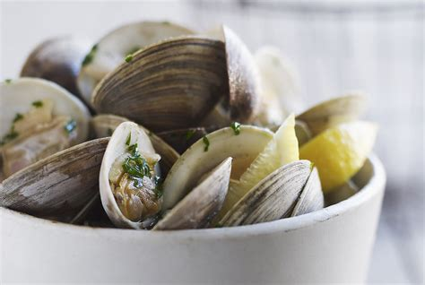 types  clams real simple