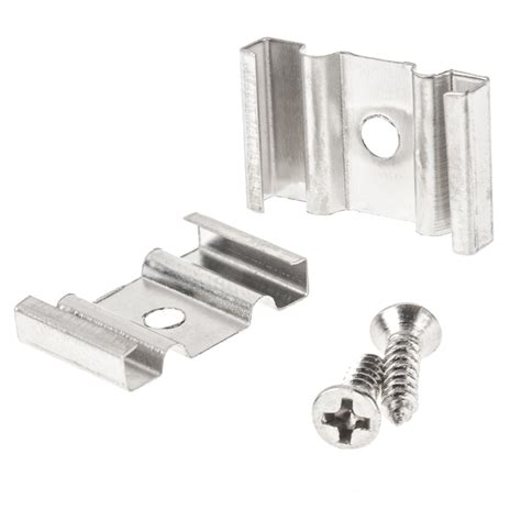 c clips for recessed lighting pair of mounting clips for flexible surface mount aluminum